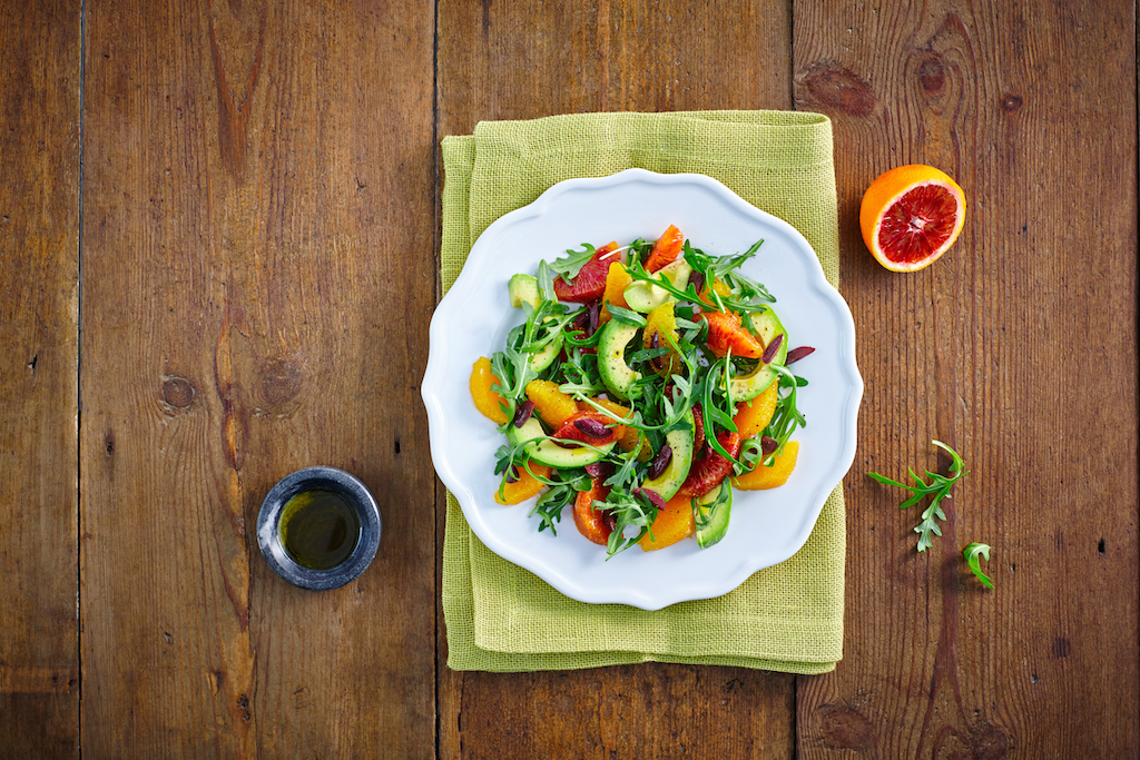 MOROCCAN ORANGE AND AVOCADO SALAD