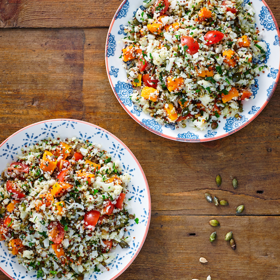 Cauliflower Rice Salad Recipe - Nutrition Dynamics