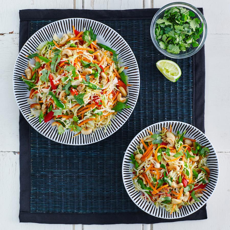 Crispy Thai Salad Recipe - Nutrition Dynamics