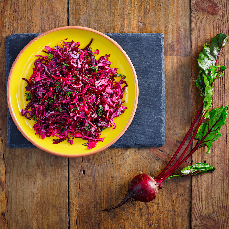 """Featured image for """"Red Cabbage and Beetroot Salad Recipe"""""""